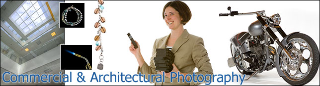 Commercial Photography Portfolio Banner